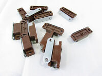 Hafele Magnetic Catch Brown 4-5kg W/strike (lot Of 14)