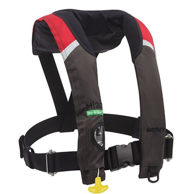 Kent M-33 In-sight Manual Inflatable Life Jacket With Harness