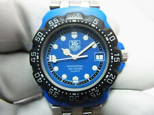 Tag Heuer Blue Formula 1 F1 Mid 38mm Swiss Watch 381.513/1 New Battery & SS Band