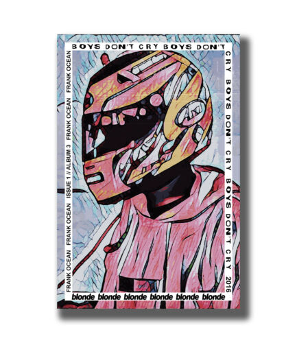Frank Ocean Blond Rapper Music Star Fabric Poster Art TY868-20x30 24x36 Inch