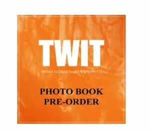 MAMAMOO-Hwa-Sa-TWIT-PHOTOBOOK-1st-Digital-Single-LIMITED-EDITION-With-Tracking