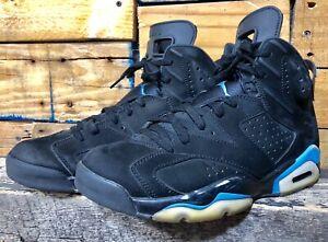 40663d6290756a Nike Air Jordan Retro Vi 6 UNC University Blue Black Size 9 384664 ...