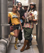 The Black Eyed Peas UNSIGNED photo -H1513- Fergie, will.i.am, Taboo & apl.de.ap