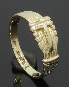 9-Carat-Yellow-Gold-Buckle-Ring-Size-M-1-2-80-17-181