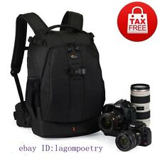 Lowepro Flipside 400 AW DSLR Camera Photo Bag Backpack Weather Cover (Black)