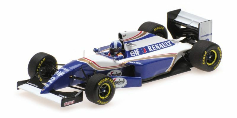 Williams Renault Fw16 David Coulthard Gp Debut Spanish Gp 1994 1:43 Model