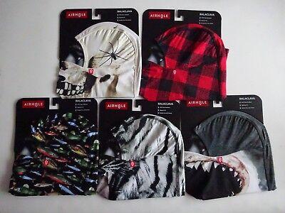 Airhole Balaclava Hinge Drytech Hood Facemask NWT Hunting Fishing Snowboarding