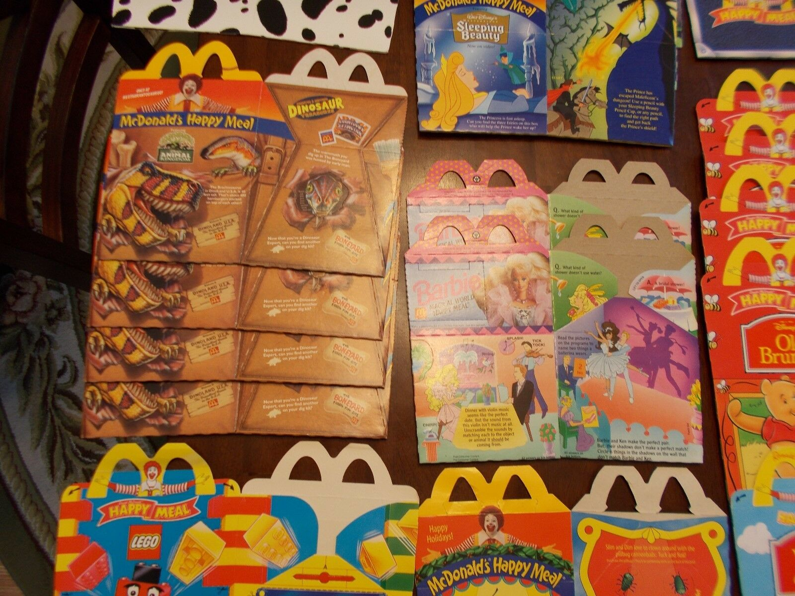 LOT OF 32 VINTAGE McDonalds HAPPY HAPPY HAPPY MEAL BOXES +