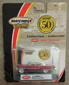 Matchbox-Collectibles-Red-1955-Cadillac-Fleetwood-50th-Anniversary-2