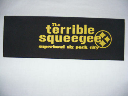 Cham Easy//Shammy Pittsburgh Steeler Terrible Squeegee