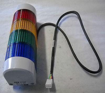 PATLITE MODEL WM-T BYGR SAFETY LIGHT BAR,4-COLOR 24AD//DC,2.5A,TYPE RATING 1