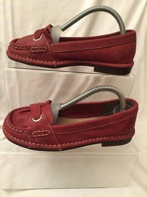 Zapatos Hush Puppies Cuero Rojo Talla (3) 36