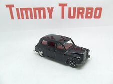 CORGI LONDON TAXI IN BLACK CAB WITH OPENING DOORS 72 MM LONG
