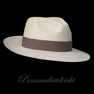 1a4bd025a Details about Genuine Panama Hat Montecristi Trévil Superfino Men Woman  Straw Fedora
