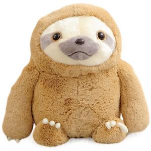 Plush-Sloth-Story-Bedtime-Doll-Stuffed-Kids-Animal-Toy-Birthday-Great-Gift-28-034
