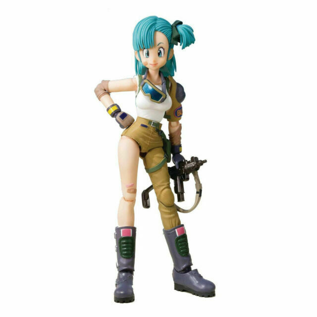 NEW 2018 Bandai S.H Figuarts Dragonball Z Bulma Action Figure IN STOCK!
