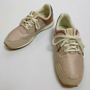 Suede Leather Trainers Size UK 6.5