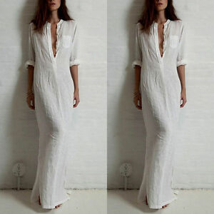 Sexy-Women-Summer-Loose-Boho-Evening-Party-Dress-Beach-Long-Maxi-Dresses-LXL01