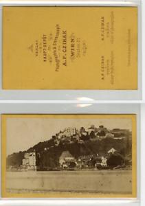 A-F-Czihak-Autriche-Vervielfaltigung-Panorama-CDV-vintage-albumen-carte-de-v
