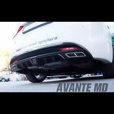 Rear Bumper Diffuser Guard Black For Hyundai Avante MD Elantra 2011~2013