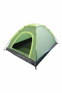 Mountain Warehouse Festival 2 Man Tent - Water Resistant Two Person Dome Camping