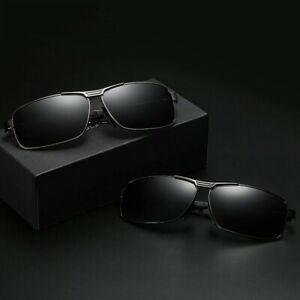 Polarized Driving Aviation Sunglasses Classic Square Full Frame Sunglasses