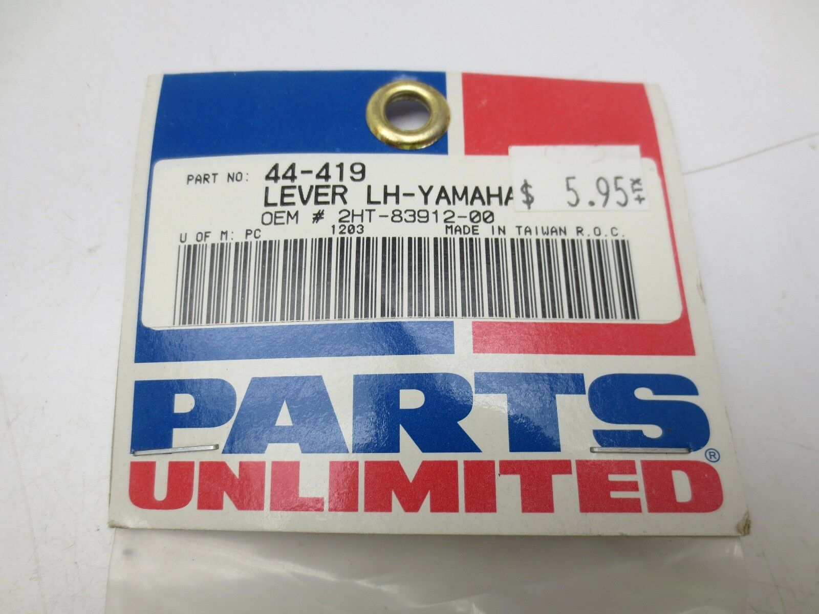 Parts Unlimited Left Hand OEM Replacement Lever 44-419