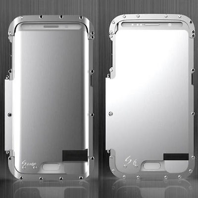 New Hybrid Armor Luxury Metal Shockproof Aluminum Case Cover For Samsung Galaxy