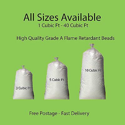 Bean Bag Booster Refill Polystyrene Beads Filling Top Up Bag  Beans Balls