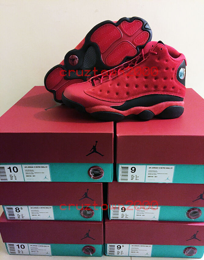 Nike Air Jordan XIII 13 Red What is Love Chinese Single Day China Exclusive lot