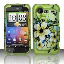 Design Rubberized Hard Case for HTC Droid Incredible II 6350 - Hawaiian Flower