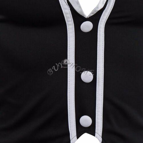 Hommes Smoking Costume Maid Tenue String robe fantaisie coucher de nuit sous-vêtements Slips