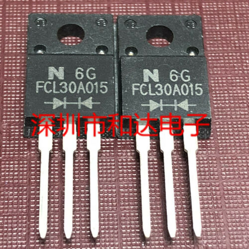 10 x FCL30A015 Schottky Barrier Diode TO-220F 15V 30A