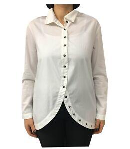 donna Concept 100 da bianca cotone una Crea camicia qwzFIWX