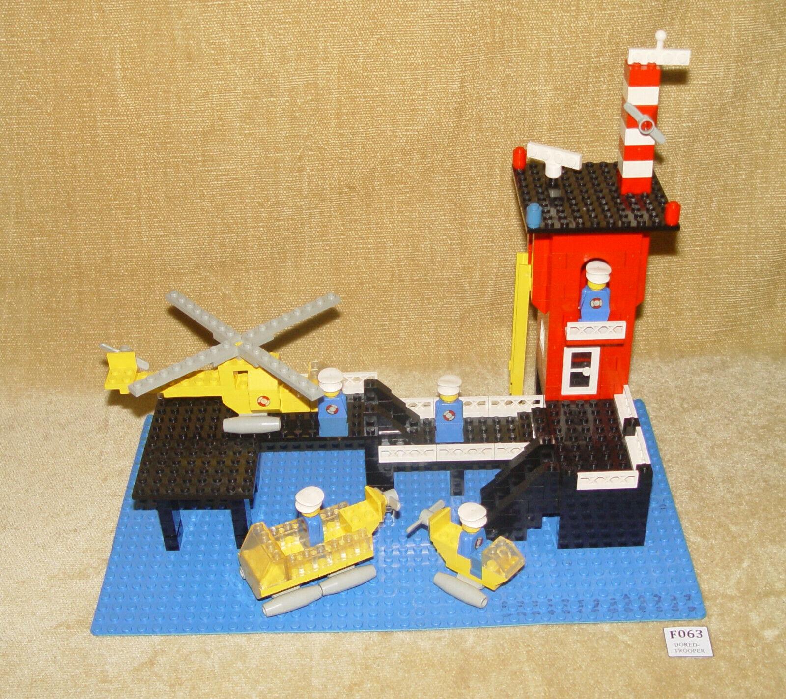 LEGO Sets  Legoland  369-1 Coast Guard Station (1976) with MINIFIGURES Vintage