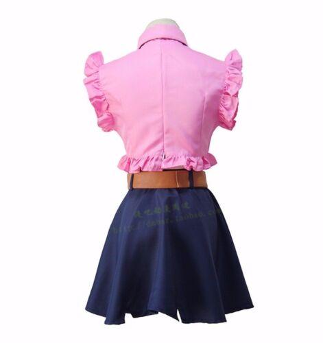 OnSale The Seven Deadly Sins Elizabeth Liones Uniform Cosplay Costume Sets Skirt