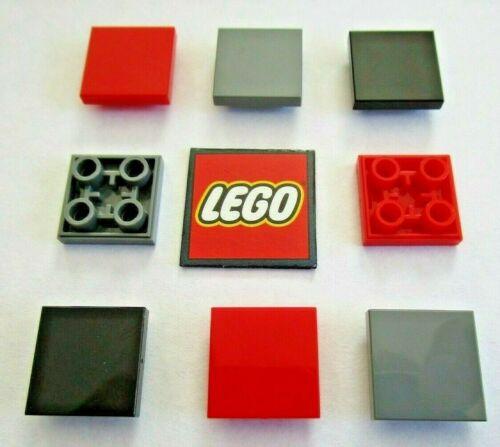 CONFEZIONI DA 4 Colori a Scelta-Design 11203 LEGO TILE 2x2 invertito