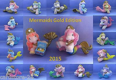 Filly Mermaids Glitter Gold Edition 2015 16 Meerjungfrauen einzeln oder komplett