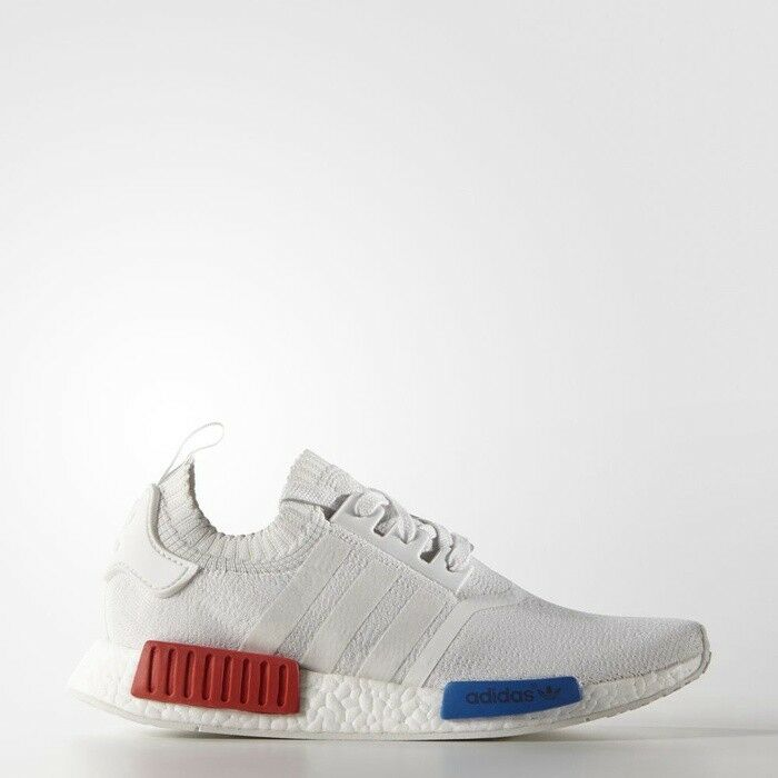 Adidas NMD R1 PK OG White Lush Red Size 14. S79482 yeezy ultra boost