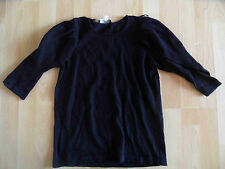 ZOE ONA schöner Pullover mit Puffärmeln dunkelblau Gr. 34 TOP OA1