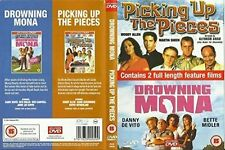 Drowning Mona & Picking Up the Pieces (Double Bill) AGE 15 DVD/new and sealed