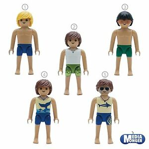 playmobil-Figur-Strand-Pool-Yacht-Beach-Boy-Playboy-Surfer-Model