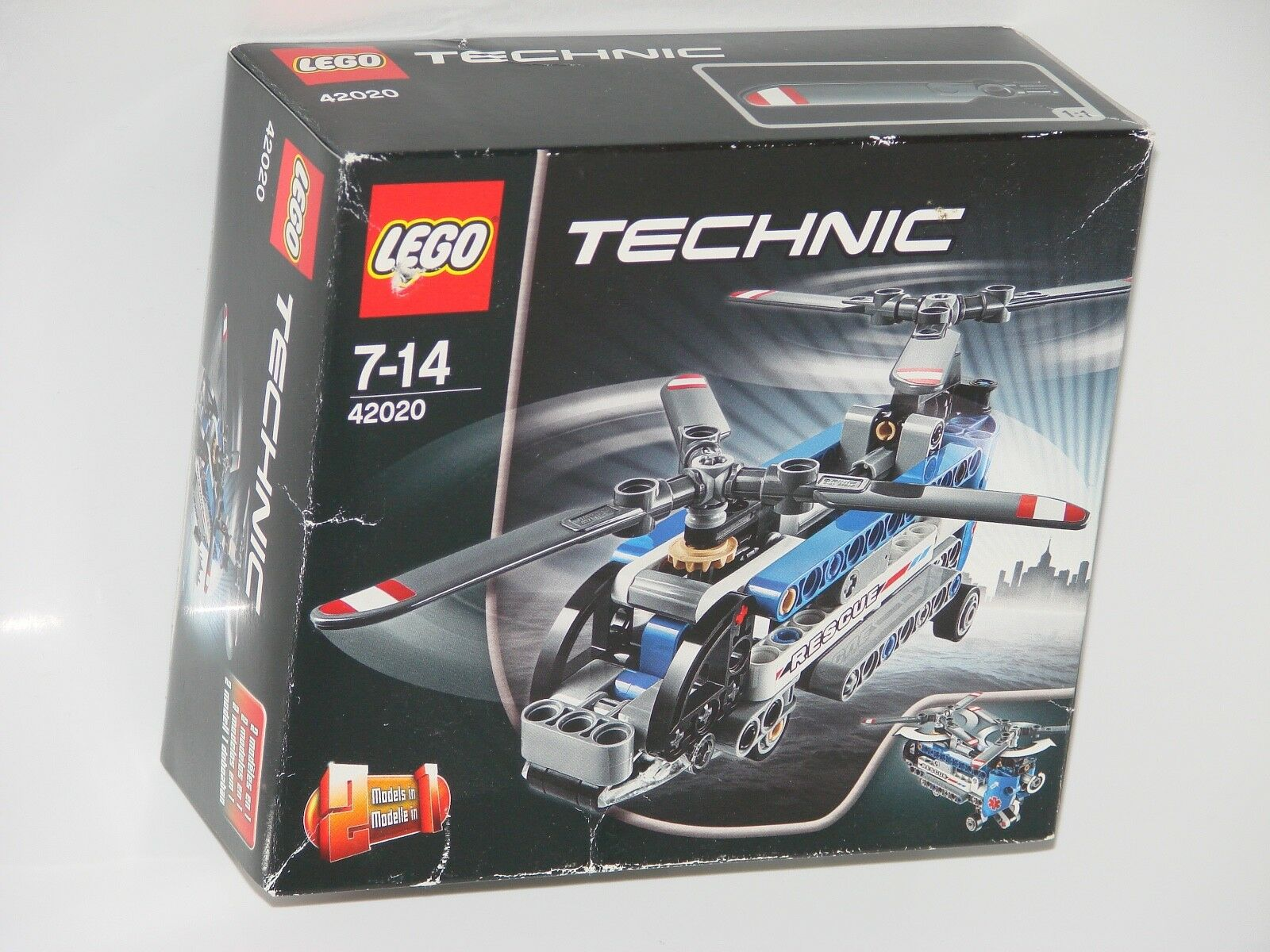 Lego ® Technic 42020 Double rougeor Hélicoptère de petits _ Twin-rougeor Helicopter Small