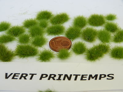 Obbiettivo Lot De 50 Touffes D'herbes - Z - Vert Printemps