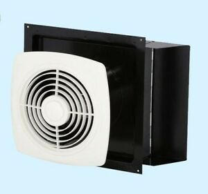 Kitchen Exhaust Fan White Through Wall Ventilation Laundry