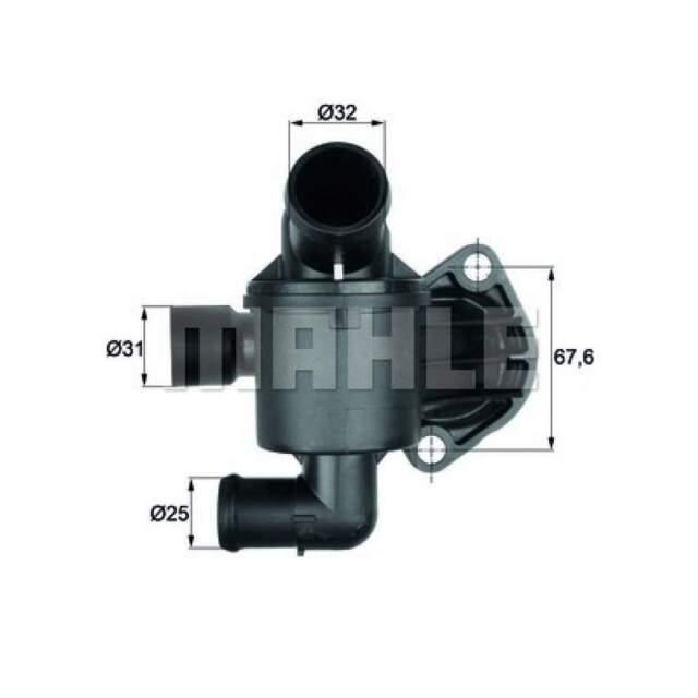 1 Thermostat Kühlmittel BEHR TI 6 87 passend für AUDI VAG CUPRA