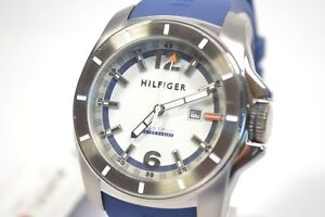 Tommy-Hilfiger-1791113-Windsurf-White-Dial-Blue-Silicone-Watch