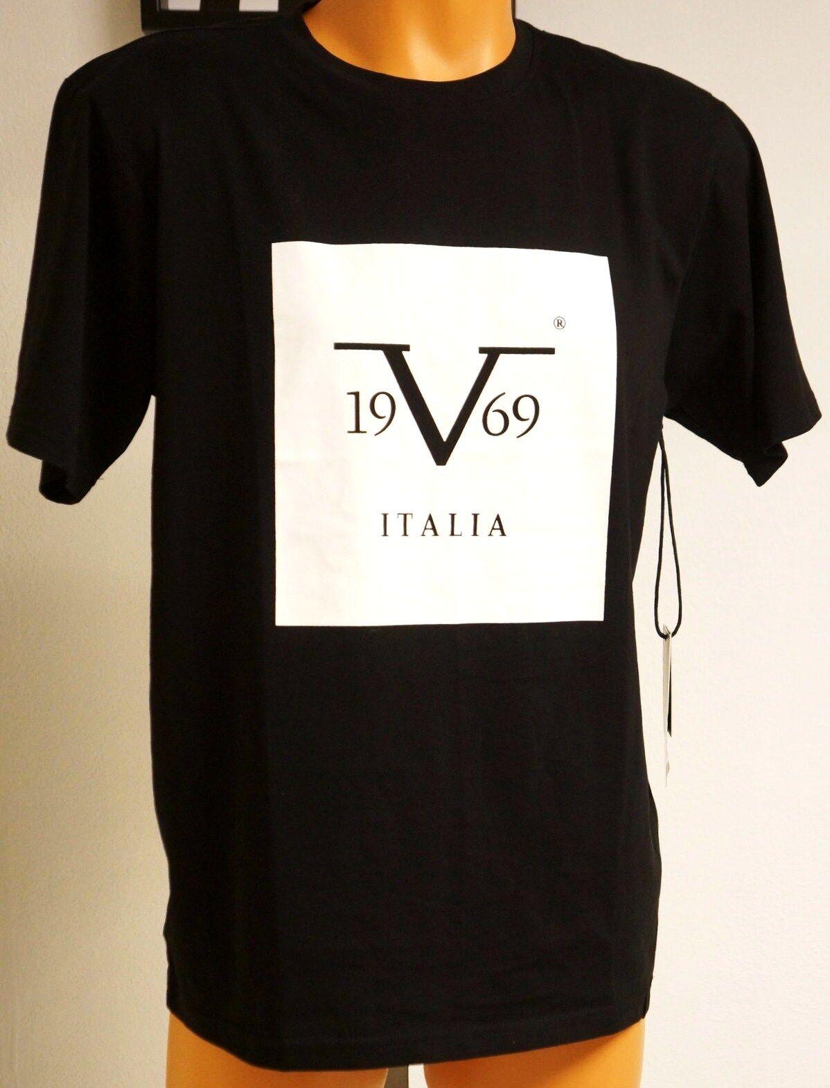 865f7dea530986 VERSACE 19.69  V 1969 Italia  Designer M Abbigliamento Sportivo NWT T-Shirt  Blk njlygh9511-T-Shirts