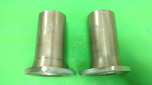 """3/"""" TO 2.5/"""" 409 STAINLESS 3 BOLT FLANGE GASKET STYLE HEADER COLLECTOR REDUCER USA"""