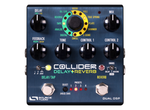 Source-Audio-Sa-263-Collider-Delay-Reverb-Pedale-D-039-Effet-Effectpedal-Neuf-Neuf